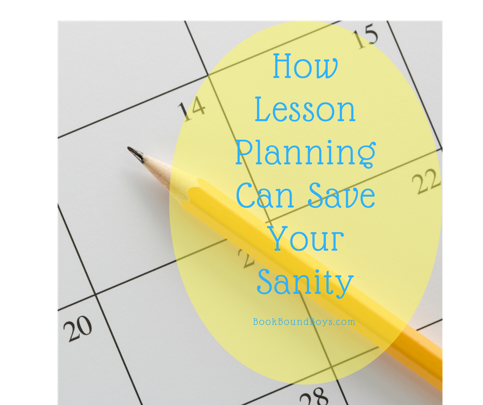 How Lesson Planning Can Save Your Sanity